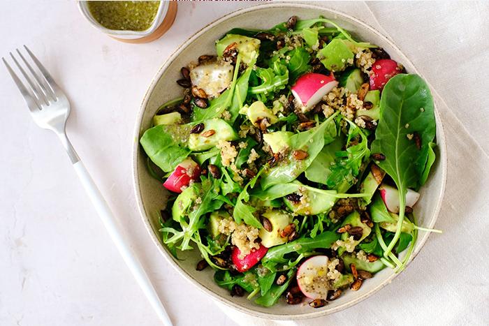 spinach recipes salad