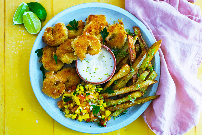 new recipes May prawns